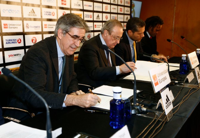Real Madrid, Euroleague, Fnerbahce sign the Athens Principles.
