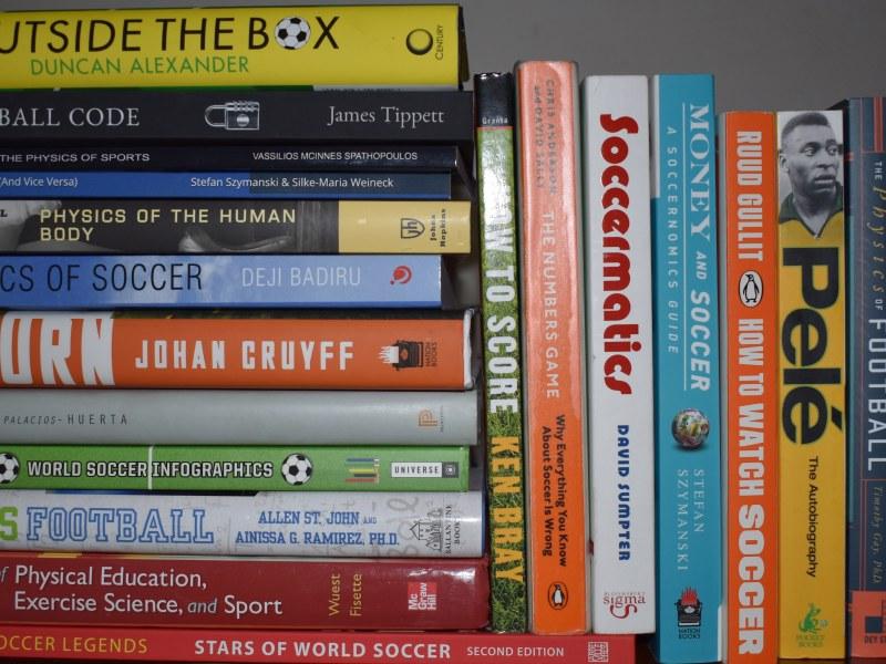 Soccer books.